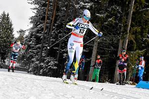 Ebba Andersson hade en stark världscupssäsong och toppade formen perfekt till OS.
