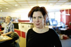 Lisa Pehrsdotter, redaktionschef och ansvarig utgivare för Dala-Demokraten.