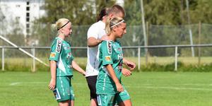 Maja Lindfors, Marielle Nordlander och deras Själevad föll på bortaplan mot tabelltvåan Notviken på lördagen.