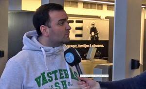 Andreas Dayan föreslås bli ny ordförande i VSK Fotboll.