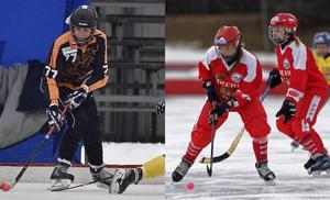 Elena Goremykina och Olga Bogdanova blir SAIK:s första ryska damspelare genom tiderna.