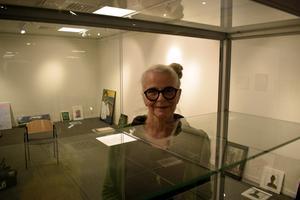 Eva Wikner Grahnström, ordförande i Borlänge konstförening.