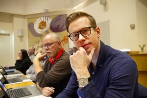 Patrik Nilsson (SD) ville inte se en skattehöjning.