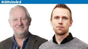 Hans Lindeberg, chefredaktör Östersunds-Posten och Daniel Hansson, redaktionschef Länstidningen.