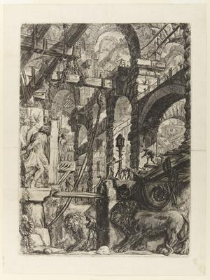 Femte gravyren i Giovanni Battista Piranesis serie
