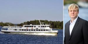 Tomas Eriksson (MP): – Ett steg i rätt riktning för en hållbar kollektivtrafik på vatten. Foto: Fredrik Hjerling