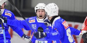 Joakim Hedqvist fick jubla tre gånger om senast. BILD: Mikael Fritzon/TT