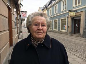 Marna Johansson, 84 år, Centrum.