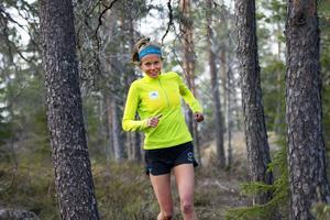 Löpning är det som Johanna Åström känner sig mest bekväm med.