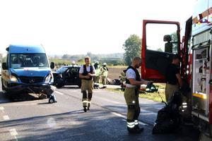 En och en halv timma innan olyckan, där en rattfull busschaufför var inblandad, larmade Louise Peterson polisen om en vinglig buss.