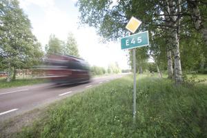 E45 kan komma att ledas förbi Sveg enligt ett regeringsbeslut som togs i dagarna.
