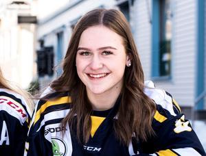 Maja Grundström var mycket glad när hon fick reda på att hon blivit uttagen till U18-landslagets träningsläger