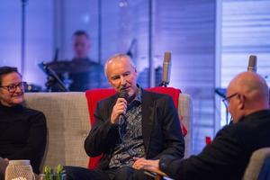 Ulf Westman, jubileumsgeneral för Kanalåret, intervjuades också.