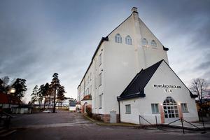 Påsen med misstänkt narkotika hittades på Murgårdssskolans skolgård.
