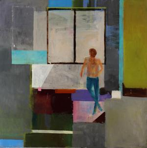 Målning av Anders Gyllerfelt.