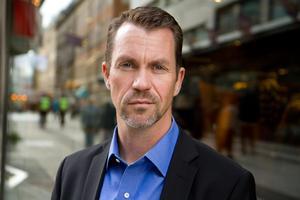 Lars Geijer, säkerhetschef på Svensk Handel. Foto: Björn Mattisson/pressbild