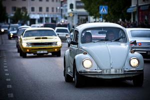 Det var många olika sorters bilar som deltog i cruisingen.