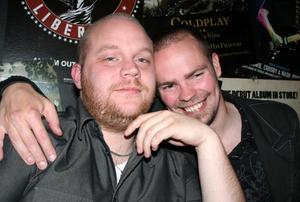Rock och K Baren. Jimmy och Daniel