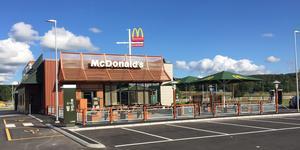 Foto: McDonalds. Bilden är ett exempel på hur McDonaldsrestaurangen i Södertälje kan se ut.