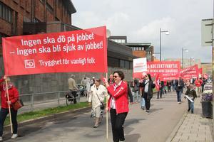 Första maj firas digitalt i år i Skövde, det blir alltså inga demonstrationer på plats.