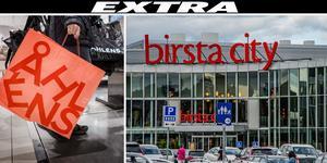Varuhuskedjan Åhléns väljer nu att stänga i Birsta city. Bild: TT/Pontus Hellsén