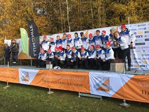 Bästa dalalag var IFK Mora som slutade på en femteplacering. Foto: Karl-Erik Andersson.