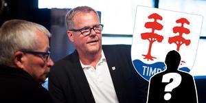 Lars Backlund, ordförande i Timrå IK, berättar hur klubben arbetar för att fylla luckan efter uppbrottet med tidigare klubbchefen.