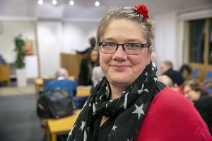 """""""Vi brukar vara starka i Insjön"""", säger Anna-Lena Blomkvist."""