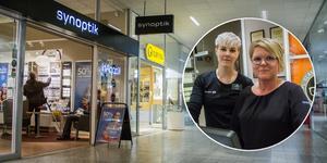 Sommaren 2010 öppnade Synoptik sin butik i Avesta galleria. Sedan dess har Ulrika Lindfors (till vänster) och butikschefen Camilla Söderberg (till vänster) jobbat där tillsammans.