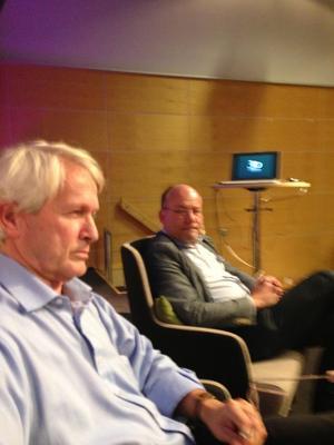 Per Molander på bokmässan i Göteborg.