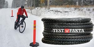 vinterdäck cykel test