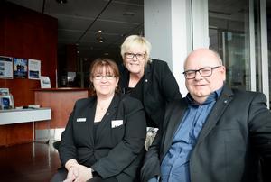 Monica Lindmark lämnar nu över ledarskapet till Marita Wallin och Håkan Östman.
