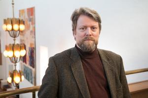 Karl Nicklas Gustavsson leder Nynäshamns kammarkör.