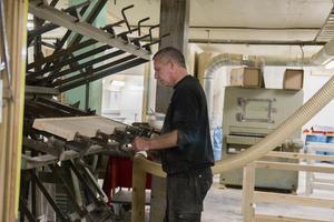 Att bygga trappor handlar till stor del om problemlösning, förklarar Micke Westrin.