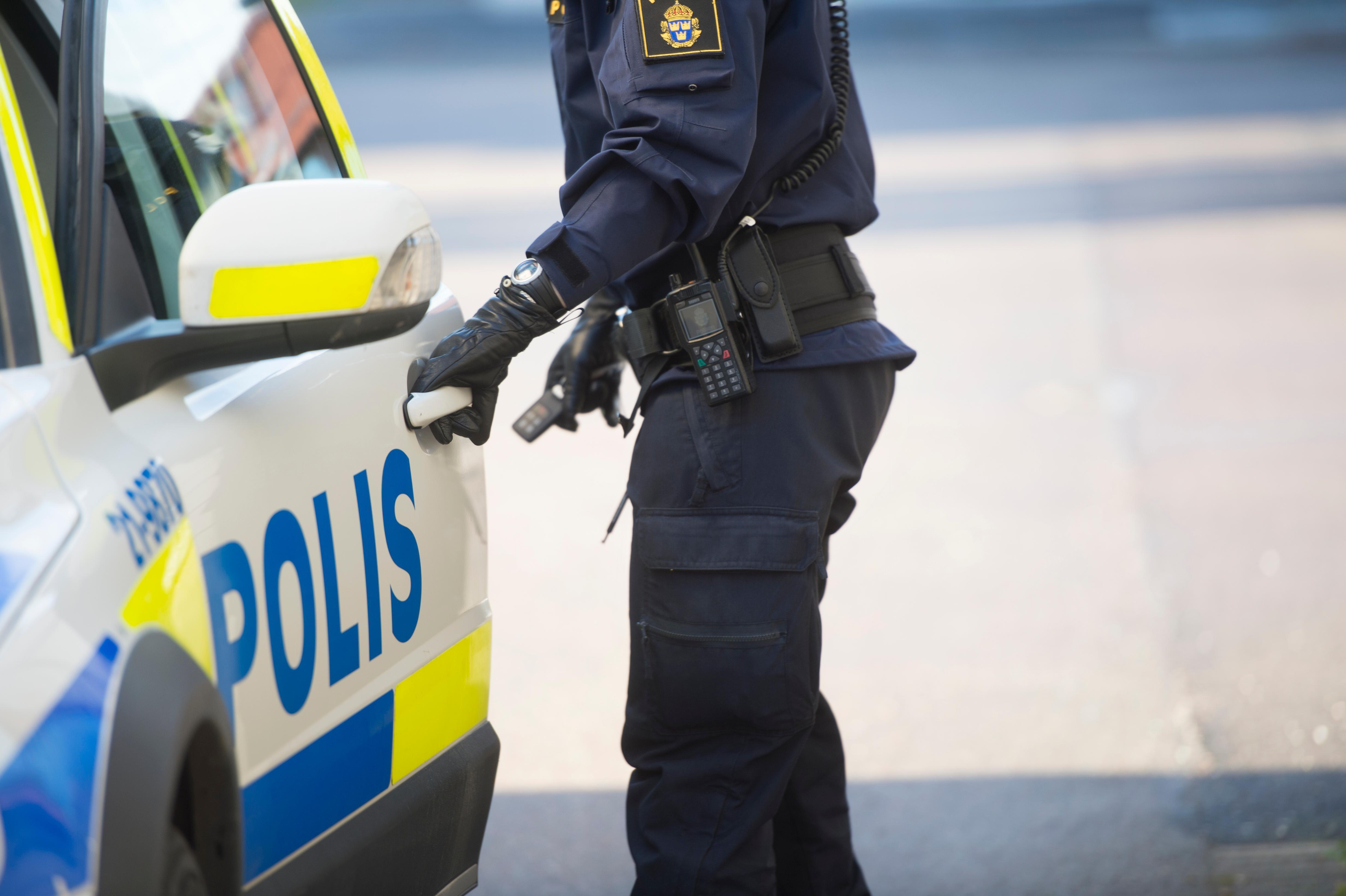 Aggressiv man i butik i Gnarp – omhändertogs av polis