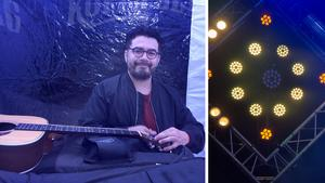 Chris Medina uppträdde på Kopparbergsfestivalen.