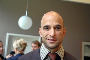 Alex Bergström (S), oppositionsråd i Västra Götalandsregionen.