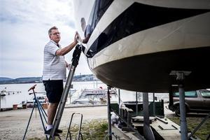 Båtliv är en viktig del i Tomas Rydmans vardag. Enligt honom är Örnsköldsvik svårslagen när det handlar om närhet och kvalité.