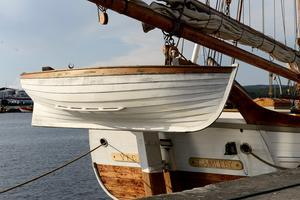 En extra liten båt utifall att.