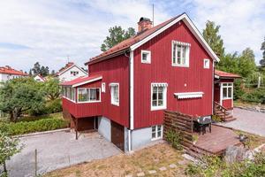 Med ett av Faluns bättre adresser finns  denna gedigna villa byggd 1933. Ett väldisponerat och smakfullt boende som renoverats och byggts till under de senare åren.Svensk Fastighetsförmedling