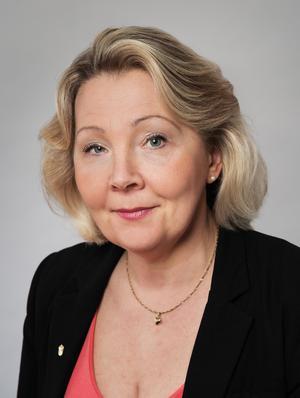 Erna Zelmin-Ekenhem på Arbetsmiljöverket.Bild: Hans Alm.