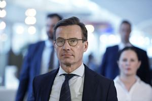 Riksdagen röstade nej till moderatledaren Ulf Kristersson som statsminister. Omröstningen resulterade i 195 nej-röster och 154 ja-röster. Foto: Janerik Henriksson/TT