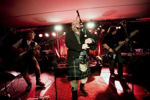 The Johnny McCuig band från Kanada på Live at heart 2016. Arkivbild: Lennart Lundkvist