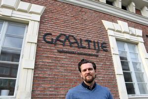 Jerker Bexelius, verksamhetschef vid sydsamiska kulturcentret Gaaltije i Östersund.