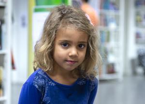 Ayo Leon, 5 år, Stockholm Sverige