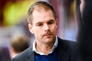 Tomas Mitell var nöjd med AIK:s insats i 3–1-segern mot Karlskrona, men hade velat se fler mål.Foto: Simon Hastegård / Bildbyrån