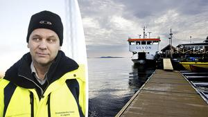 Hamnchefen Mikael Johansson och Örnsköldsviks Hamn och Logistik har börjat titta på nästa års båtturlista för att se om de behöver gå ned i trafik.