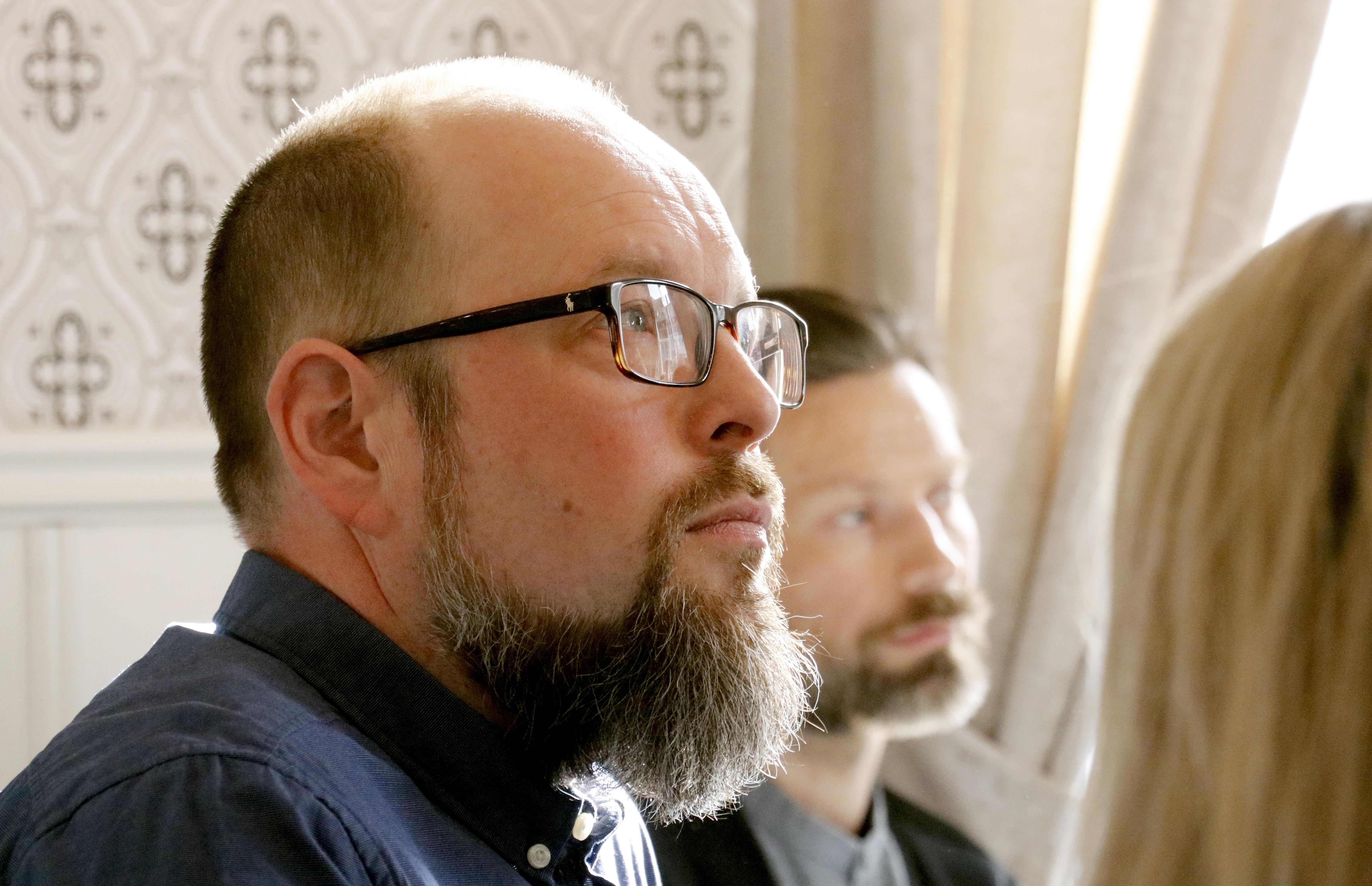 Mikael issakainen är sedan två år ansvarig för Teknos svenska tillverkningsenheter varav en ligger i Vedevåg.