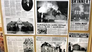 Föreläsning om tiden efter att folkhögskolan i Fellingsbro brann ned
