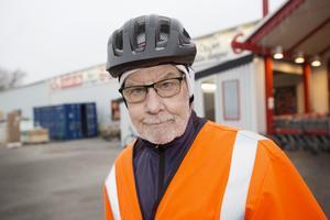 Kenneth Hemlin, 75 år, pensionär, Brynäs: